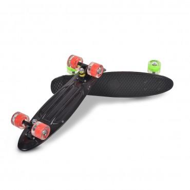 "BYOX Skateboard PP Spice 22"" Black"