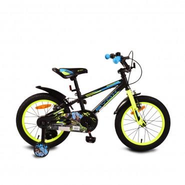 "Byox Children's bicycle V-Brake 16"" Monster Black"