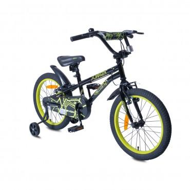 """Byox children's bicycle 18"""" V-Brake Pixy Black"""