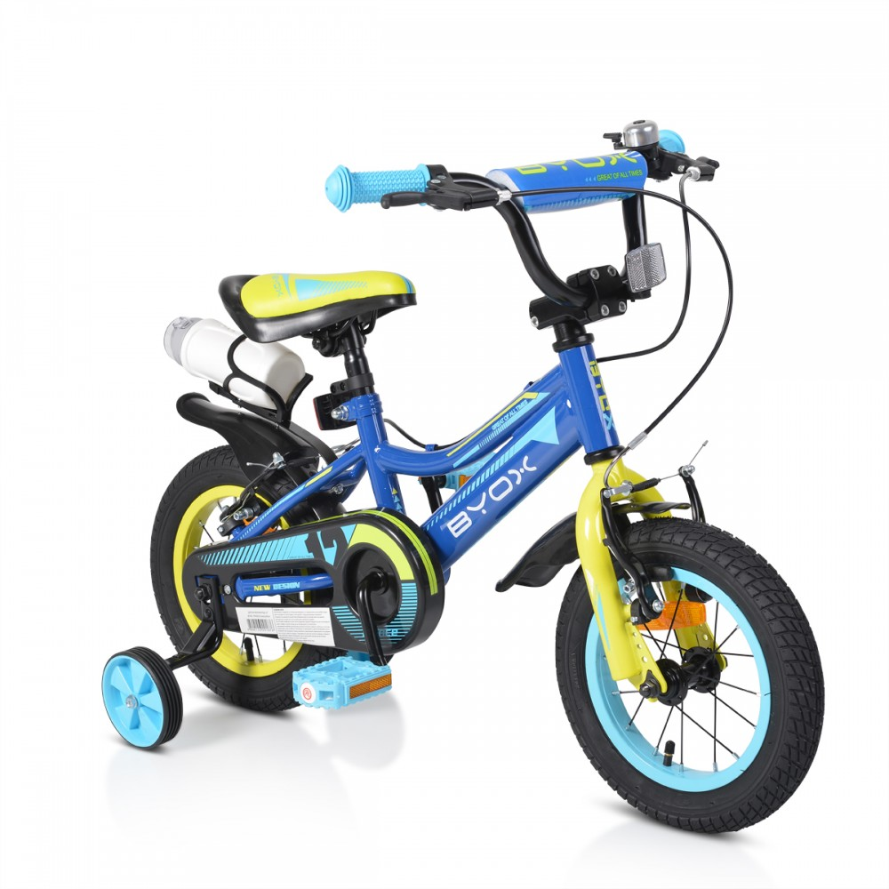 Byox children's bicycle 12'' Prince Blue New