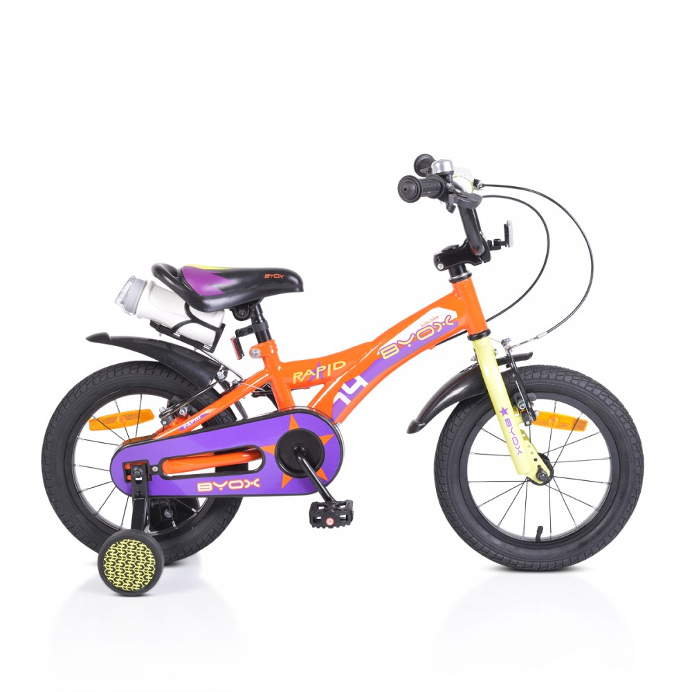Byox children's bicycle 14'' Rapid Orange