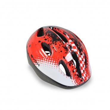BYOX Children Helmet ( 48-54 cm) Helmet Y03 Red
