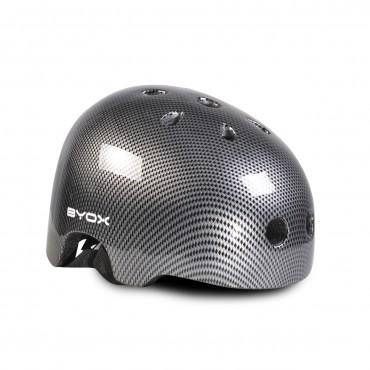 BYOX Children Helmet ( 54-58 cm) Helmet Y09 Grey