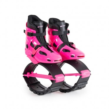 Byox Jump Shoes with T-springs, L (36-38) Pink 40-60kg