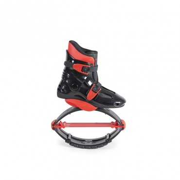 Byox Jump Shoes with T-springs, XL (39-41) 60-80 KGS Red