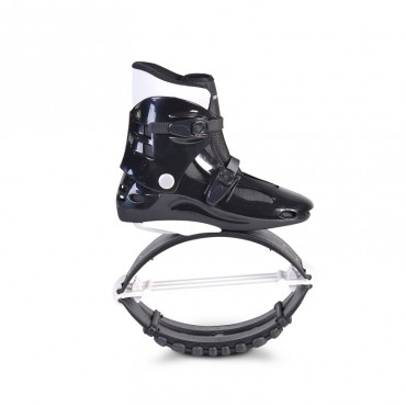 Byox Jump Shoes with T-springs, XL (39-41) 60-80 KGS White