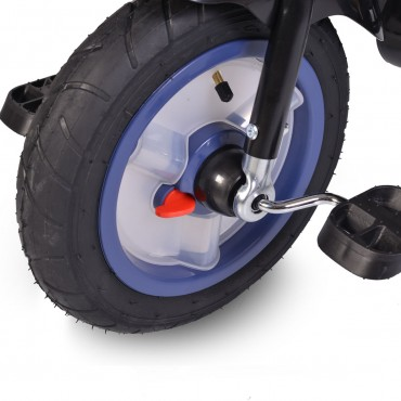 Byox reversible tricycle with air wheels and music, Jockey Dark Blue