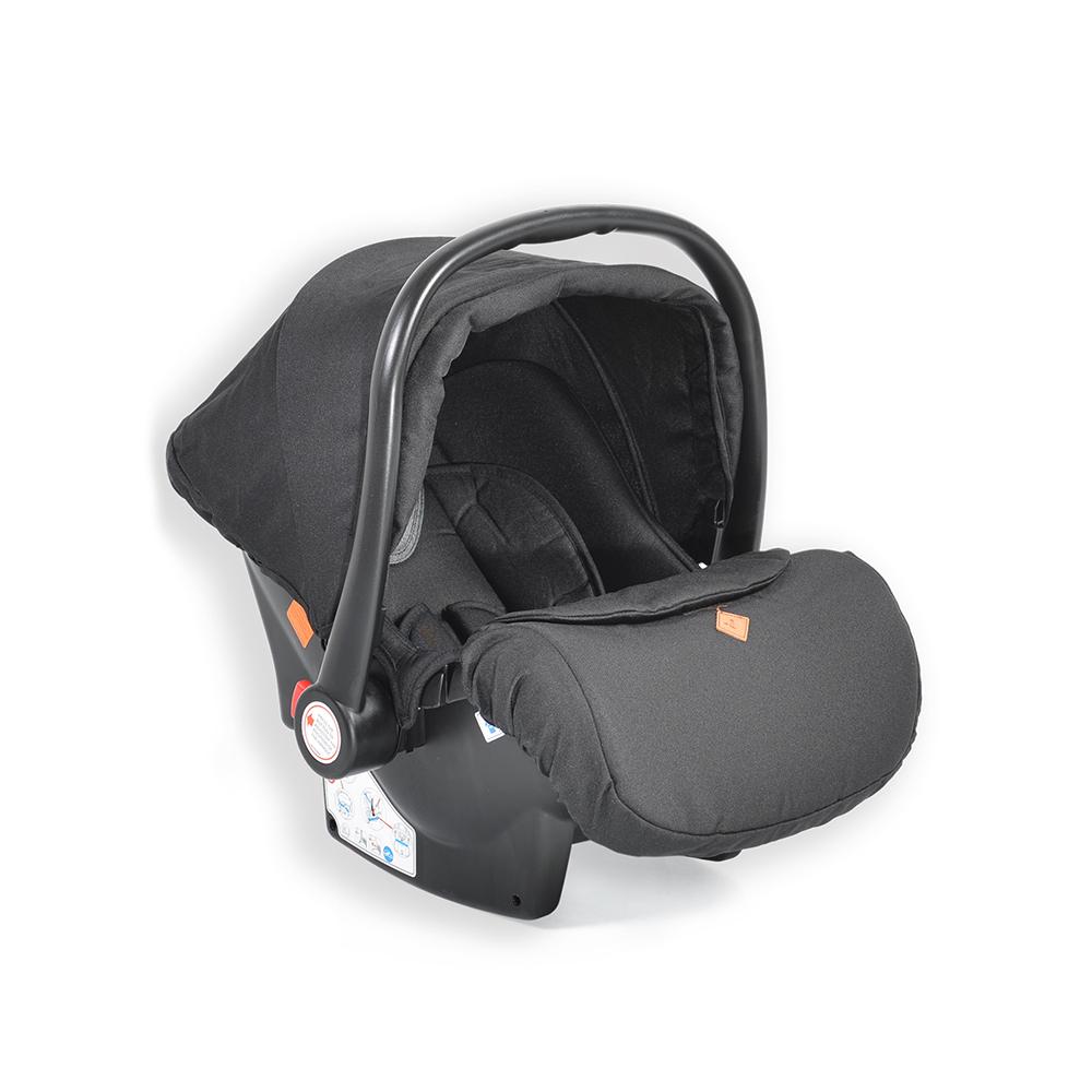 Cangaroo Safety Car Seat 0-13kg Icon Black
