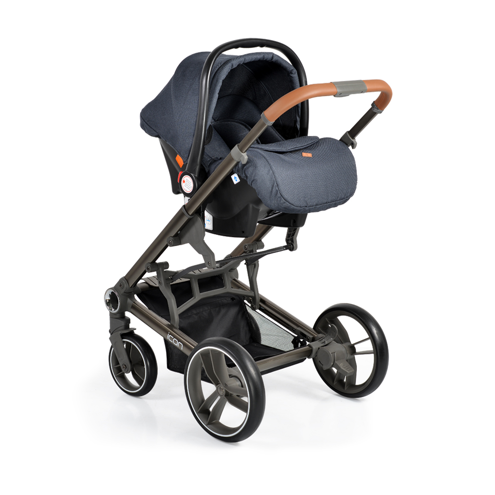 Cangaroo Safety Car Seat 0-13kg Macan Denim