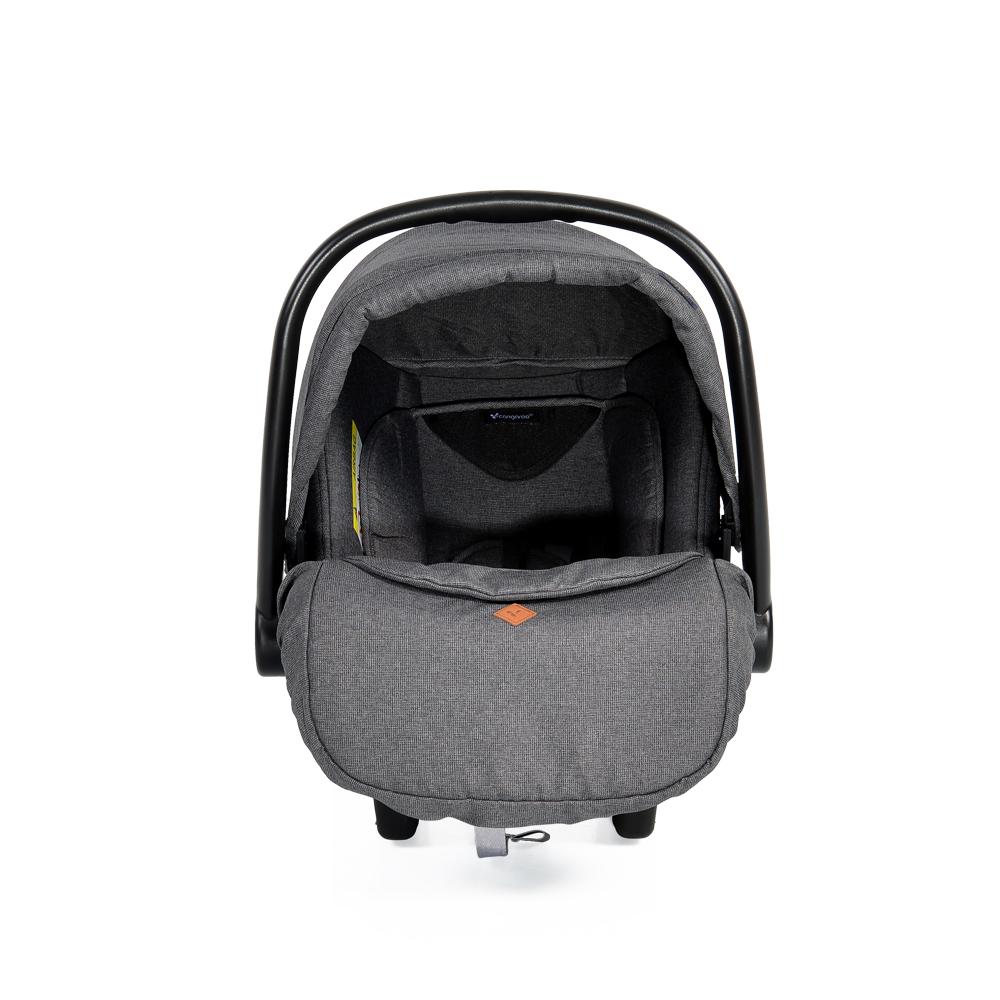 Cangaroo Safety Car Seat 0-13kg Macan Grey