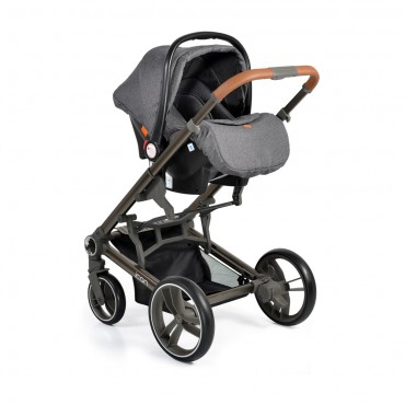 Cangaroo Safety Car Seat 0-13kg Macan Grey