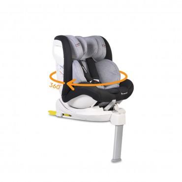 Cangaroo Car Seat Isofix 0-36 Kg Admiral Dark Grey