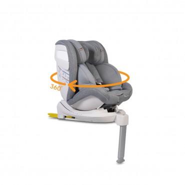 Cangaroo Car Seat Isofix 0-36 Kg Admiral Light Grey