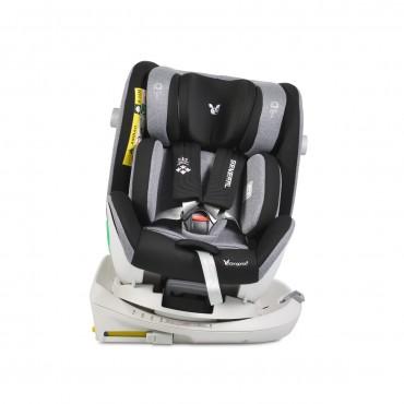 Cangaroo Car Seat Isofix 0-36 Kg General Black