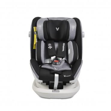 Cangaroo Car Seat Isofix 0-36 Kg General Grey
