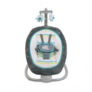 Cangaroo Baby Bouncer with vibration and melodies Remy ,Turquoise