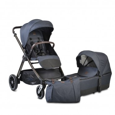 Cangaroo Baby Stroller with carrycot ,Macan Denim