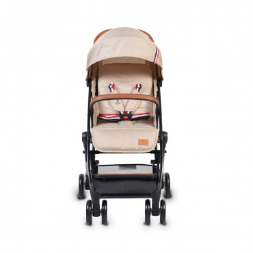 Cangaroo Baby Stroller with aluminium frame and footcover  Paris Beige