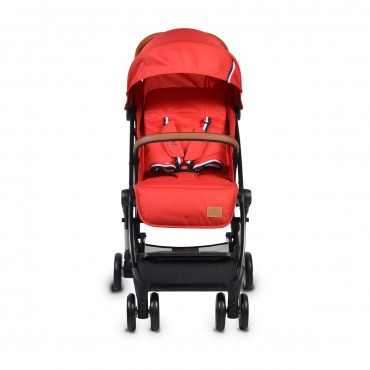 Cangaroo Baby Stroller with aluminium frame and footcover  Paris Red