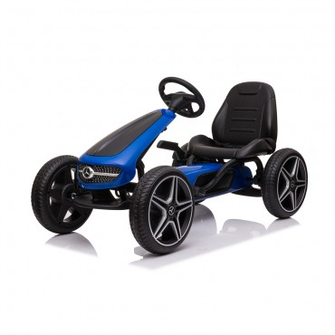 Cangaroo Children Go Kart with pedals Mercedes Benz Blue