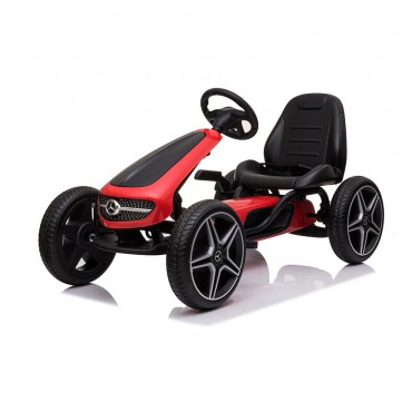 Cangaroo Children Go Kart with pedals Mercedes Benz Red