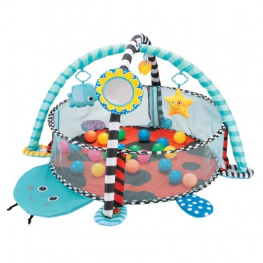 Cangaroo Play Gym and Activity Mat with 30 Balls Ladyfly 3800146267841