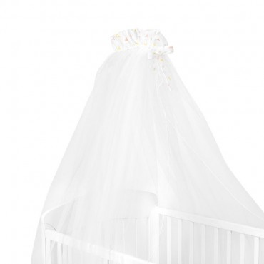 Mosquito net for baby bed 200/540cm Rabbits in Love 41140000013