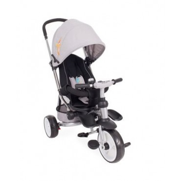 Kikkaboo children's tricycle 3 in 1 Vetta Grey Melange Phoenix, 31006020080