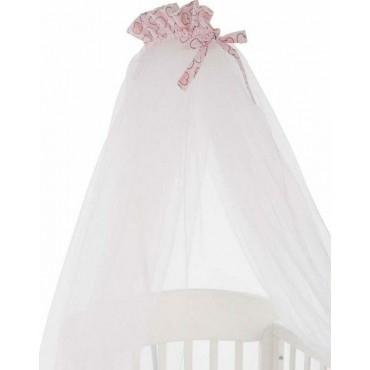 Mosquito net for baby bed Pink Bunny 41140000003