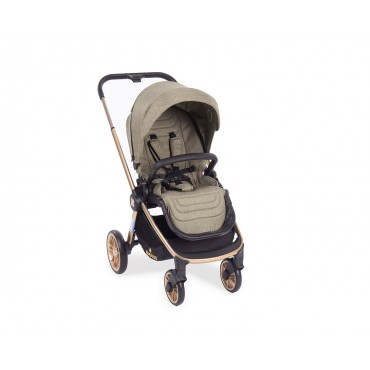 Kikkaboo Stroller 3 in 1 with carrycot and car seat Vicenza Luxury Beige 31001010067