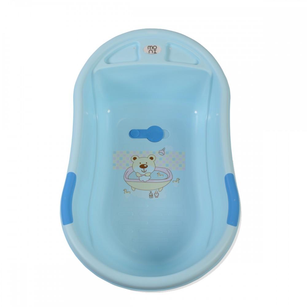 Moni Baby Bathtub Lilly Blue