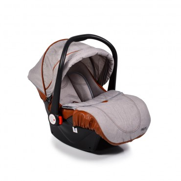 Moni Safety Car Seat 0-13kg Alma Light Grey