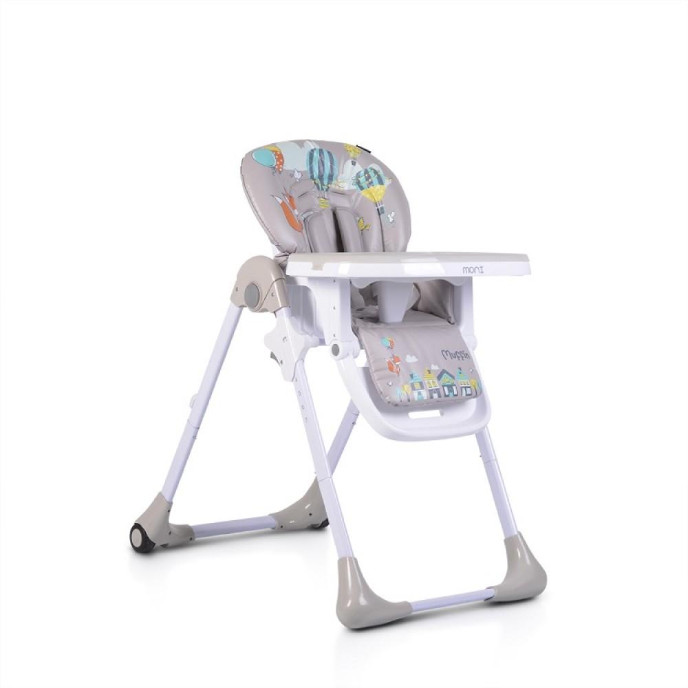 Moni High Chair Muffin Grey