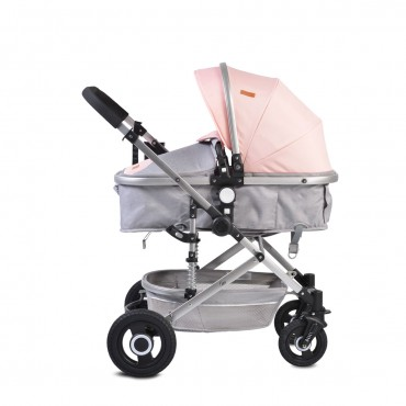 Moni reversible combined baby stroller 2 in1 Ciara Pink