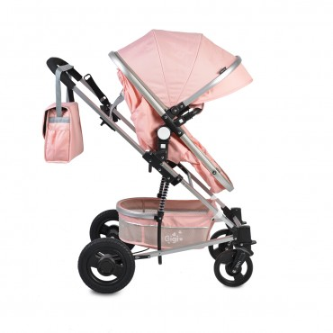Moni reversible combined baby stroller 2 in1 Gigi Pink