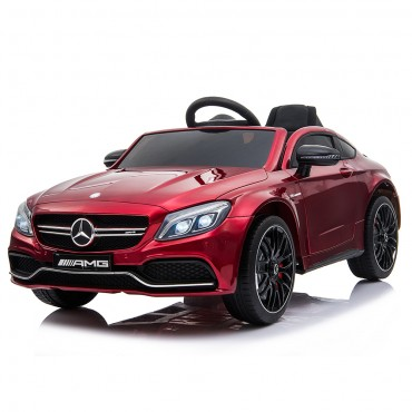 Moni Mercedes Benz Battery Operated Car 12V C63s - QY1588 Red