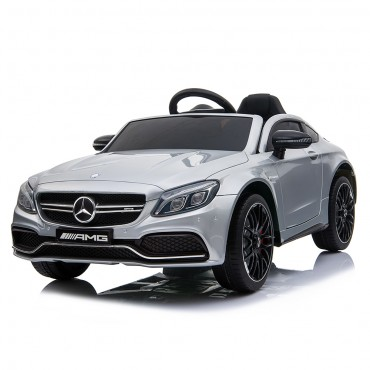 Moni  Mercedes Benz Battery Operated Car 12V C63s - QY1588 Silver