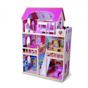 Moni Wooden doll house Emily, 4109