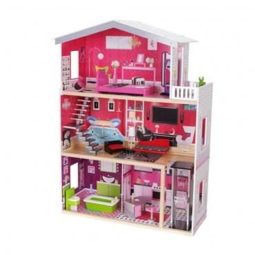Moni Wooden doll house Isabella, 4118