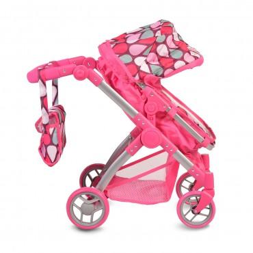 Moni Stroller for dolls Vicky Pink