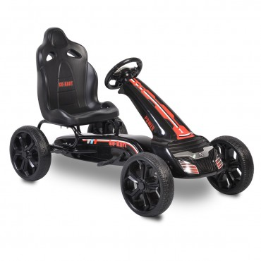 Moni Children Go Kart with Pedals Olympus Black