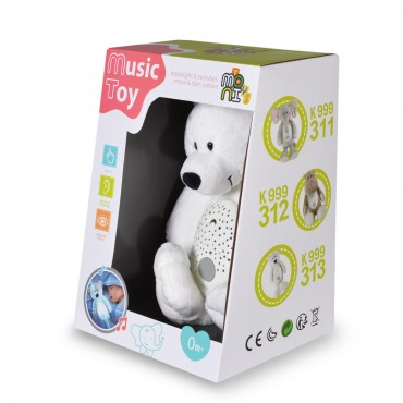 Moni Toys Night lamp White bear K999-313