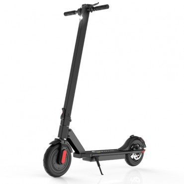 Megawheels Foldable Electric Scooter with Disc Brake 36 V 250W 7.5 Ah, S5S Black
