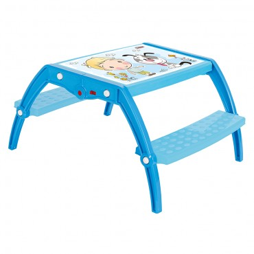 Pilsan Educational Foldable Study Table 03515 Blue