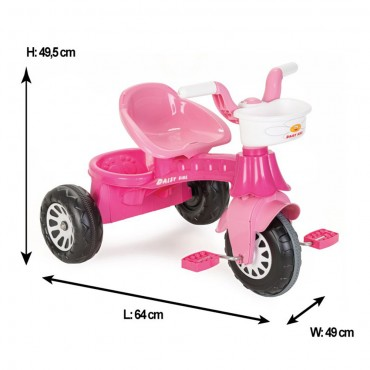 Pilsan Children Tricycle Daisy ,07140 Pink