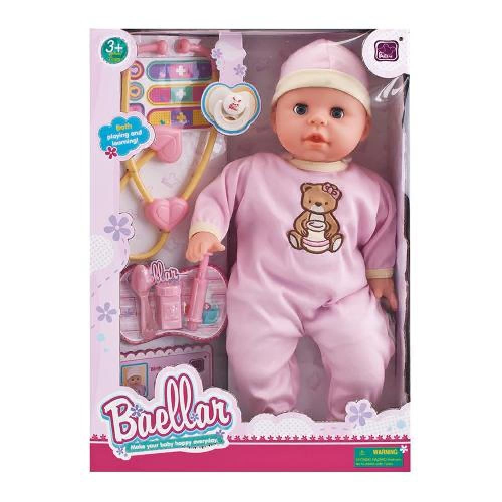 Baellar Doll 45cm with doctor set 8899, 3800146264970
