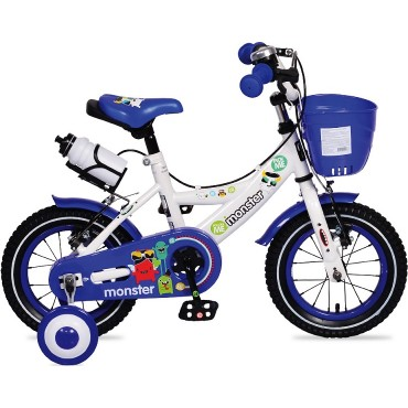 "Moni Children's bicycle 12"" Blue, 1281"