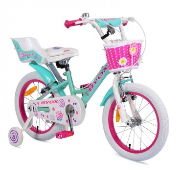 "Byox Children's bicycle 16"" Cupcake"