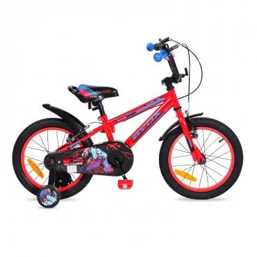 "Byox Children's bicycle V-Brake 16"" Monster Red"