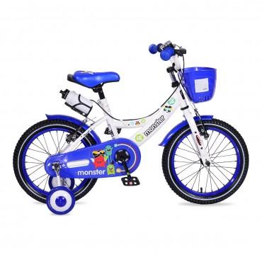 "Moni Children's bicycle V-Brake 16"" Blue, 1681"